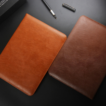 For iPad Air 2 iPad 5 iPad 6 Smart Cover Leather Case Shockproof With Stand Automatic Wake-up Sleep Function(China (Mainland))