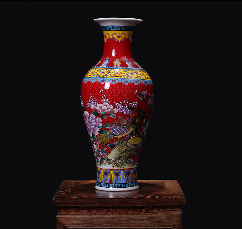 Big Ceramic floor vases for home decoration(China (Mainland))