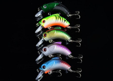 Buy 5Pcs Minnow Hard Fish Bait 5.5cm 9g Crankbait Swimbait Wobbler Lure Bass Fishing Tackle for $3.74 in AliExpress store