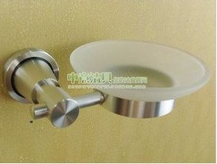 free shipping, computer satin brushed nickel space aluminum bathroom accessory,soap saucer