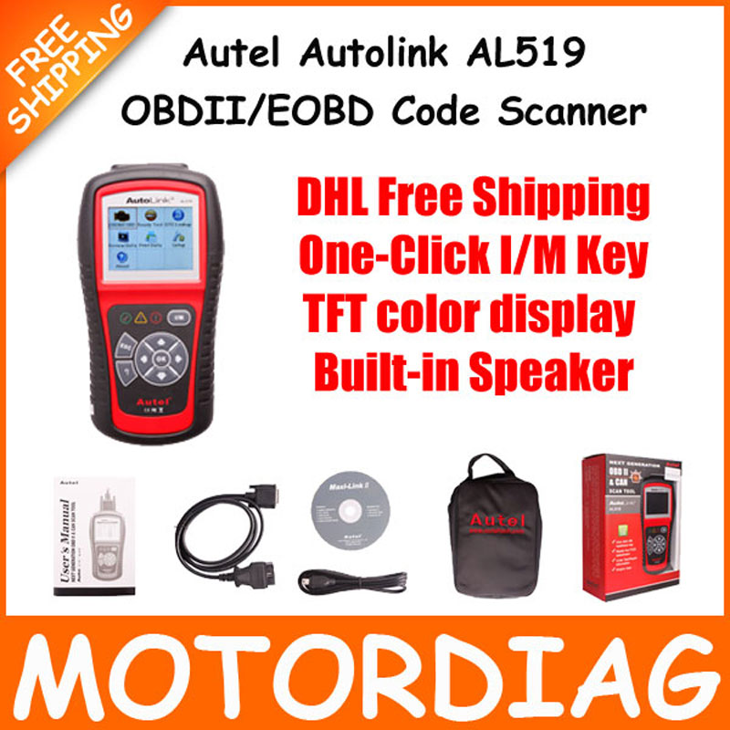 acheter autel autolink al519 519 obd2 eobd code de d faut de voiture lecteur. Black Bedroom Furniture Sets. Home Design Ideas