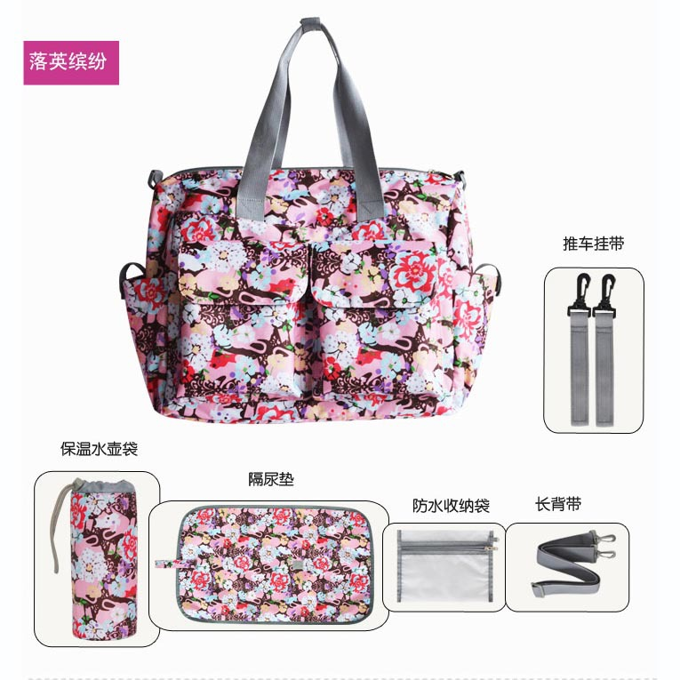 Free Shipping! 3 colors 2016 Functional Bolsa Maternidade Bag Baby Diaper Bags Changing Nappy Bags For Mummy With Big Capacity<br><br>Aliexpress