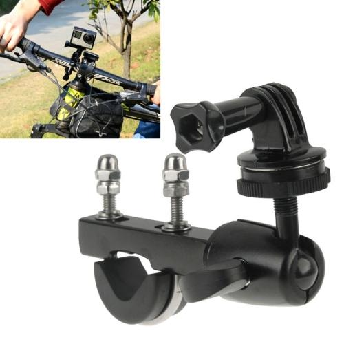 Mini DV Handlebar Seatpost Big Pole Mount Bike Moto Bicycle Clamp Tripod Adapter Screw GoPro Hero 4 3+ 3 Camera - WT 3C Accessories Online Store store
