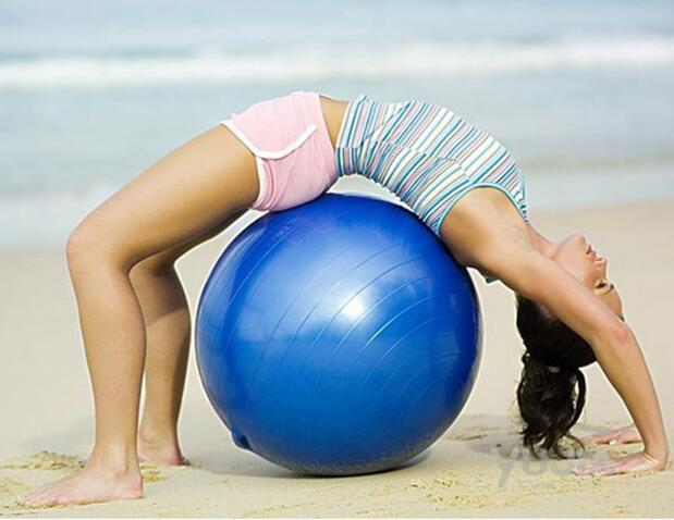 Explosion-proof yoga ball thickening fitness sports ball slimming lose weight ball child maternity inflatable pump<br><br>Aliexpress