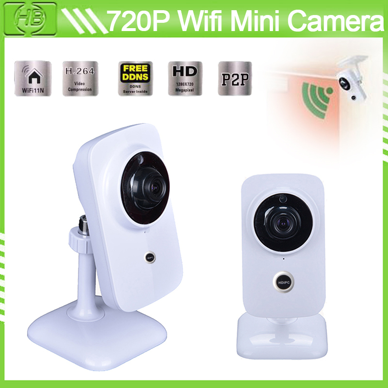 HD 720P Wifi Smart IP Camera 3.6mm Lens IR Cut P2P Support IOS/Android Two Way Audio Support Windows/Android/ios/iphone/Mas(China (Mainland))