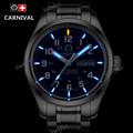 2016New Double calendar Date Tritium Luminous Quartz military watch waterproof 200M Sport Brand Watches Mens full
