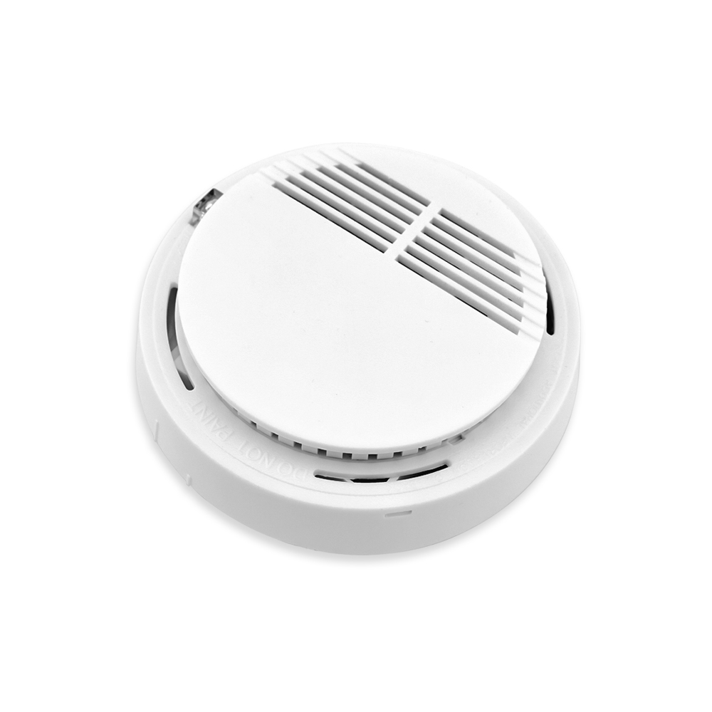Wireless Alarm Security Smoke Fire Detector / Sensor For all GSM Alarm System For Home House Office<br><br>Aliexpress