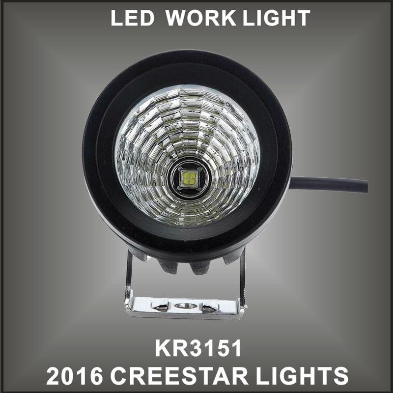 15w Cree LED Work Light Spot Lamp Driving Fog 12V Car 4x4 Motorcycle Boat ATV KR3151(China (Mainland))