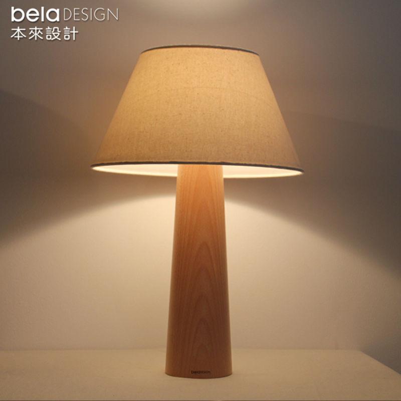 buy beladesign europe japan style man wood table lamp pastor. Black Bedroom Furniture Sets. Home Design Ideas
