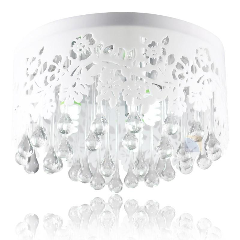 Hot-Free-Shipping-LED-Crystal-Ceiling-Light-AC90-260V-Diameter-40cm-E14-3-Light-Source-Bed (1)