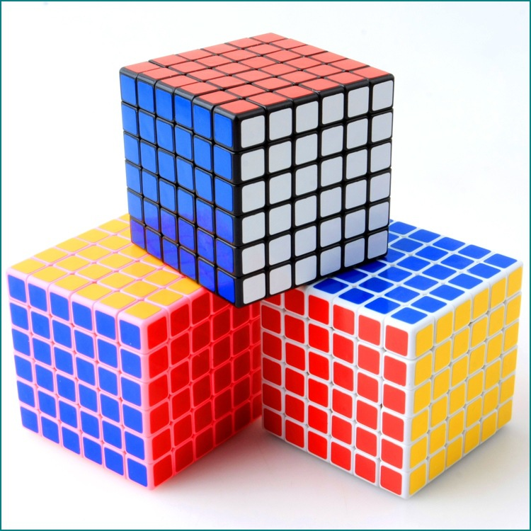 6*6*6 V-Cube 6 Rompecabezas Smooth Sticker Square Magico Cubo Magic Cube Puzzle Cube Challenge Educational Kids Toys 1314(China (Mainland))