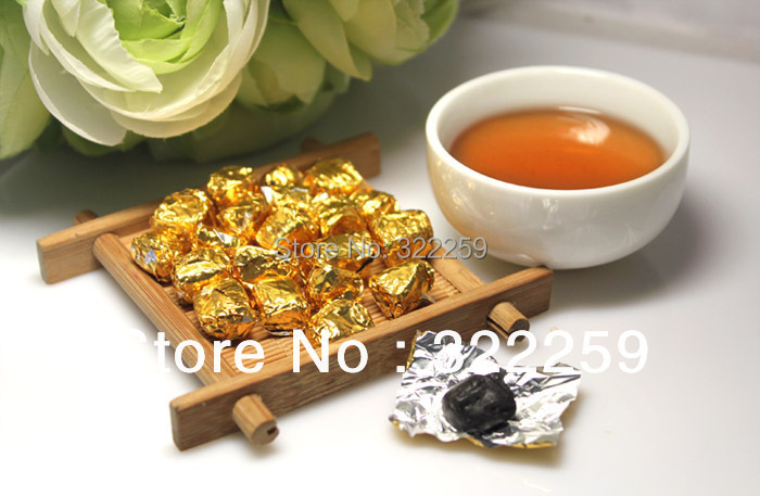 [GRANDNESS] PROMOTIONS 2008 yr Yunnan Menghai Ripe Puerh Cha Gao Ball 25 Pcs Shu cha, the tea, puer tea cha gao, lose weight<br><br>Aliexpress