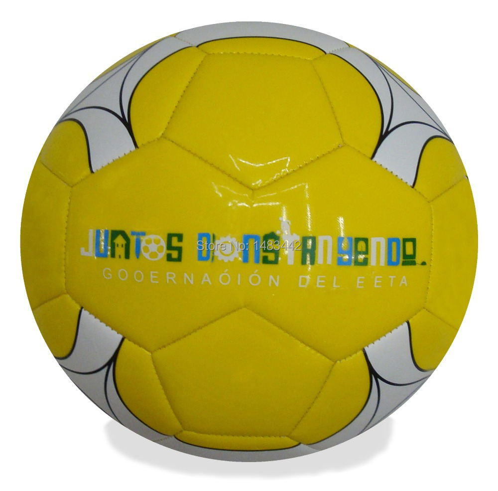 Free Shipping size 5 football machine Stitched PVC foam Outdoor game soccer Football ball High quality GY-W072(China (Mainland))
