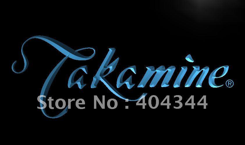 LL197- Takamine Guitar LED Neon Light Sign home decor crafts(China (Mainland))