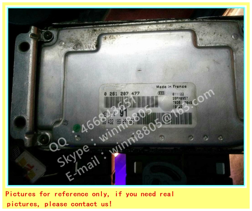 For Dongfeng Citroen Elysee Peugeot car engine computer board/ECU/ Electronic Control Unit/Car PC/0261207477 9643218988(China (Mainland))