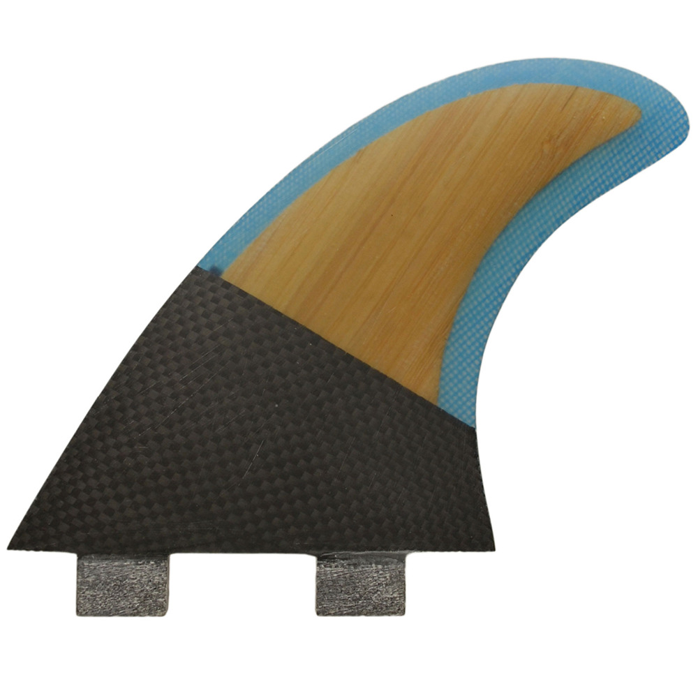 PROSEA Thruster Surf Fin bamboo carbon G5 size - Prosea Surfing Accessories store