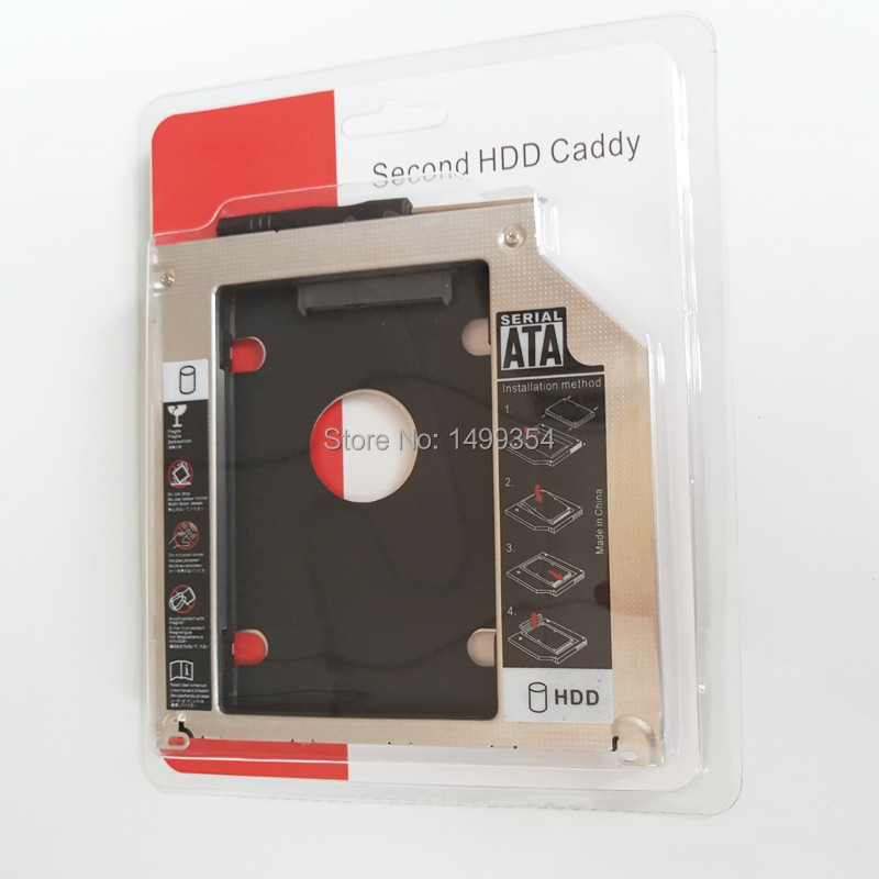 Second HDD Caddy 12.7mm SATA to 3.0 SSD 2.5inch Hard Disk Drive 02