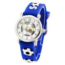 Children silicone watch Brand Quartz Wrist Watch Baby For Girls Boys Waterproof Kid Watches Football Fashion Casual Reloj(China (Mainland))