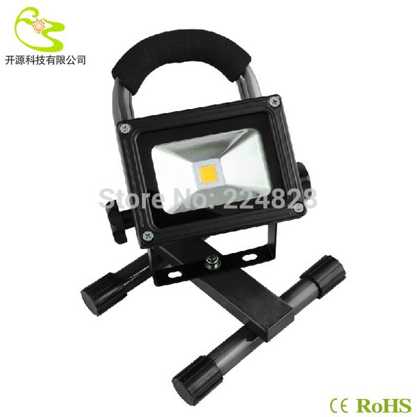 LED Flood Light 10W Led Portable Spotlights IP65 Waterproof 1000lm 85-265v Led Portable Flood Light led Rechargeable Camp Lamps(China (Mainland))