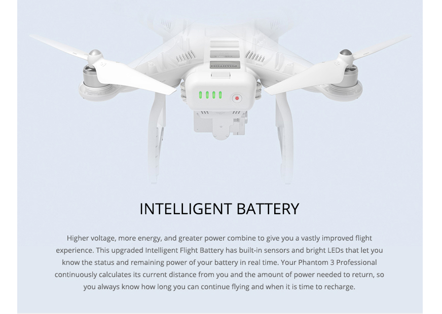 Free shipping!DJI Phantom 3 Professional Version With 4K Camera RC Quadcopter RTF in Stock! 100% original