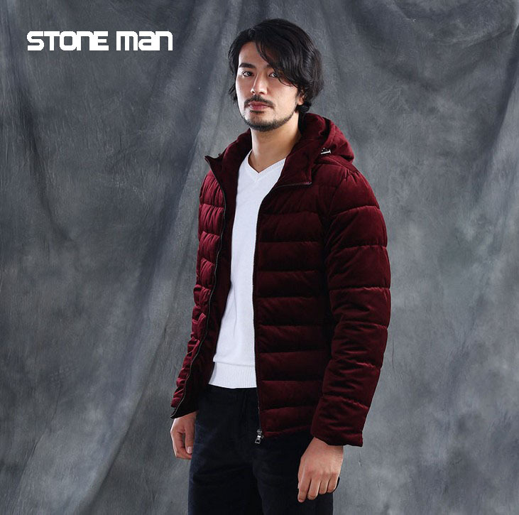 winter coat men cotton down jacket coat overcoat jacket outwear warm jacket new 2015 thick Clothing