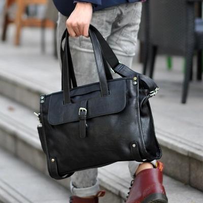 Fashion Leisure high grade PU leather man travel bag large capacity men duffle bag  gym with shoulder bag Men Business Handbag <br><br>Aliexpress