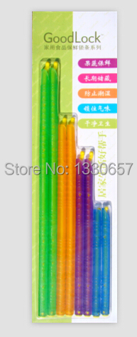 Refrigeration tools and equipment bag clip Magic seal stick Fresh lock PP Material variety packing 12.5/18.5/22.5/28.5 each 2pcs(China (Mainland))