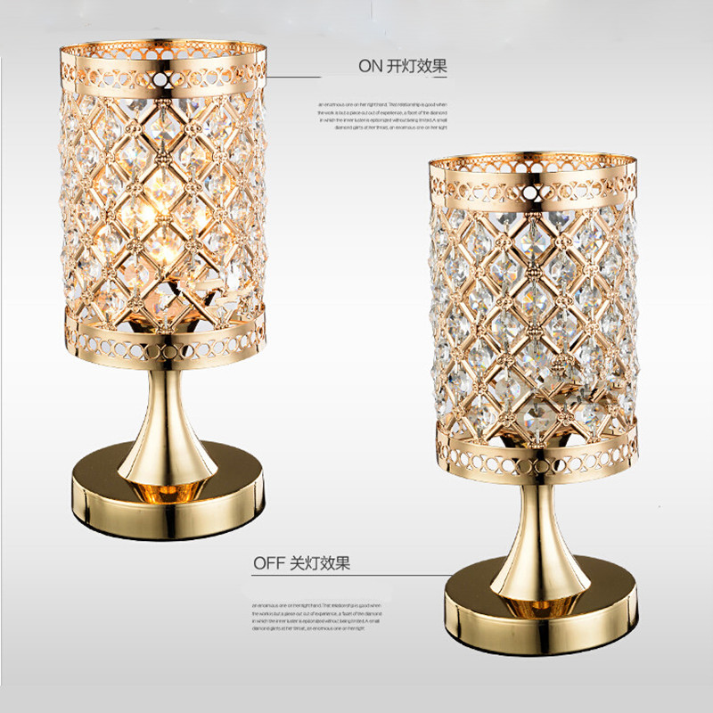 Crystal Night Table Lamp Best Inspiration For Table Lamp