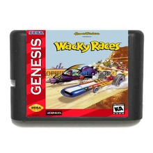 Buy Wacky Races 16 bit MD Game Card Sega 16bit Game Player for $3.79 in AliExpress store