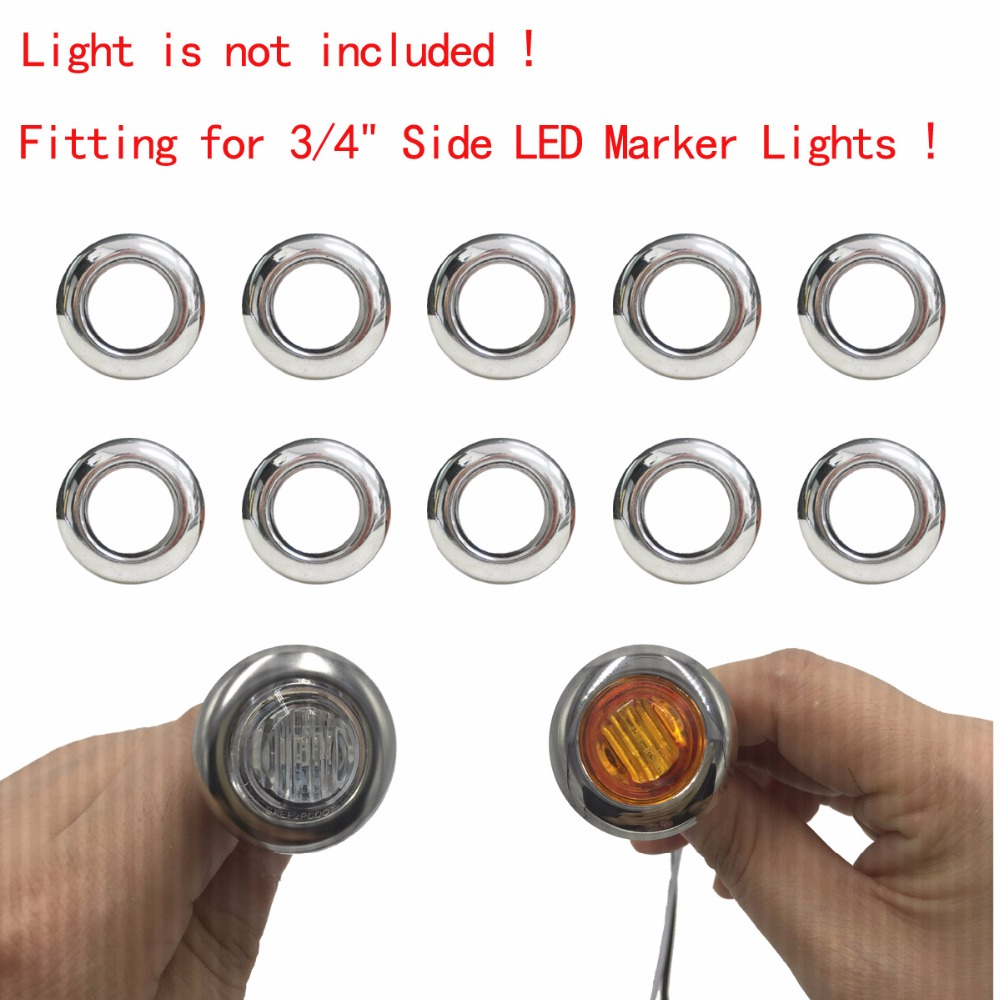 Chrome Trim Led Lighting Car Accessories Truck Accessories