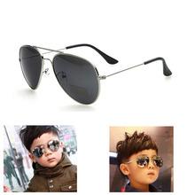 Children Brand Sunglasses Kids Boys girls sun glass Mirror Metal Goggle 2016 New Child Baby Girl UV400 Ray Sunglasses