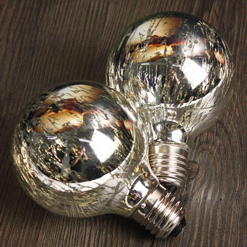Wholesale Price E27 G95 5W Pure Warm White Edison Retro Vintage Antique Filament LED Light Lamp Bulb Non Dimmable AC85-265V(China (Mainland))