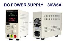 0 ~ 30 V 0 ~ 5а портативная Mini DC стабилизированный регулируемый постоянный ток питания мобильный телефон / лэптоп ремонт электропитание