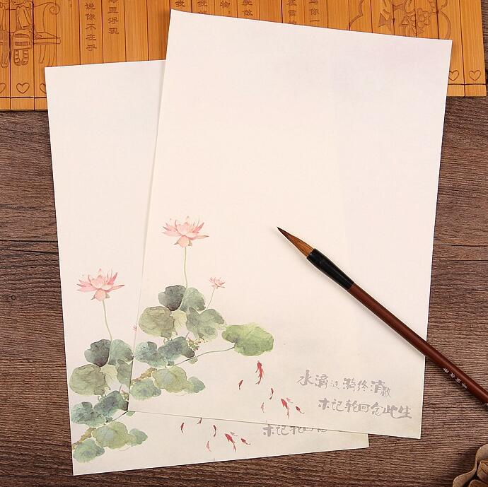 chinese writing paper This penmanship paper (also known as handwriting practice paper) is available with various number of lines per page, in two page orientations, and four paper sizes.