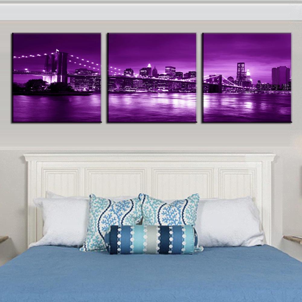 The Living Room Music Brooklyn: Aliexpress.com : Buy 3 Pcs/set Landscape Plum Bridge