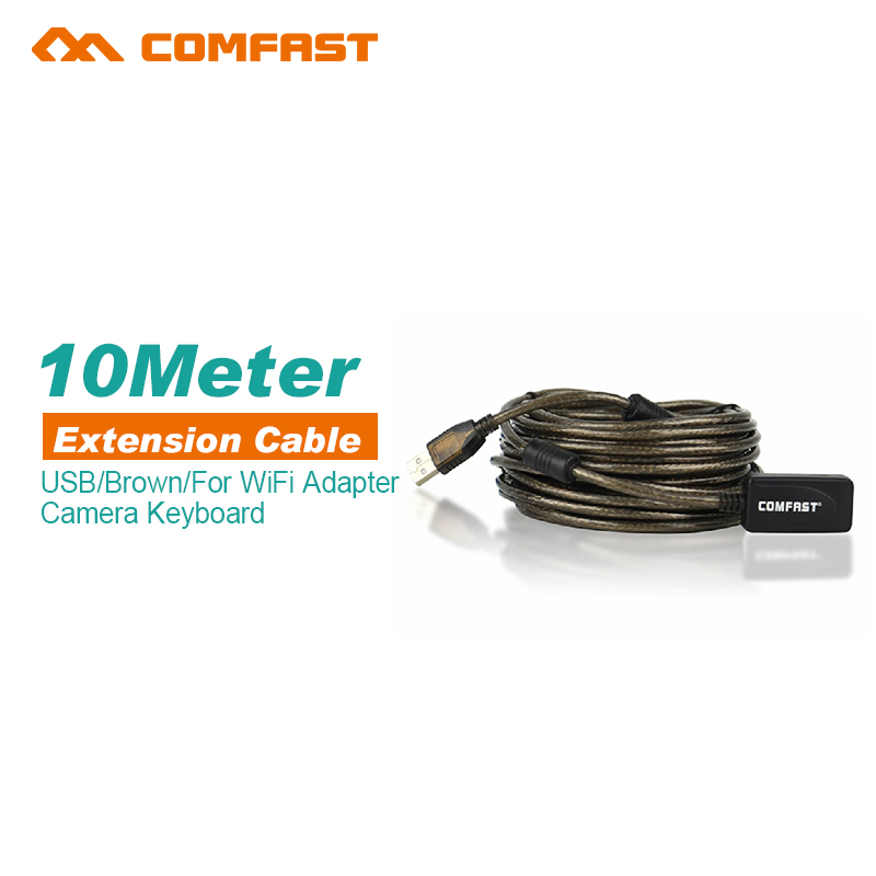 High Speed Active 30Ft USB 2.0 Extension Cable Male To Female With Booster Repeater Extender 10 M 10 Meter(China (Mainland))