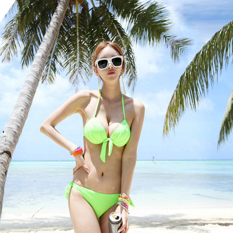2016 fashion wholesale swimwear bag toby gini bikini female swimsuit fission steel BF052(China (Mainland))