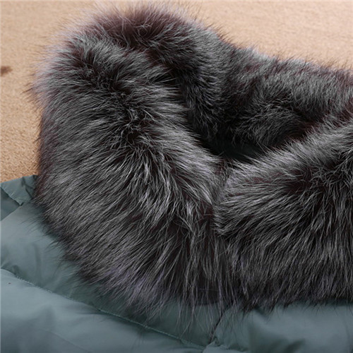 Women\`s Winter Jacket Women 2015Thick Warm Jackets And Coats A Word Parkas Fur Collar With Hood Coat Female Plus Size XXL 5Color (5)