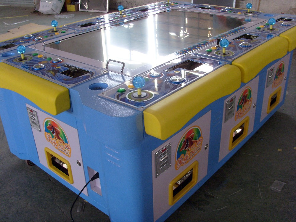 Large Entertainment Machine / 3D Fishing Game Machine / Arcade Console 8 Players Machine / Catch Fish (Fun Fishing)(China (Mainland))