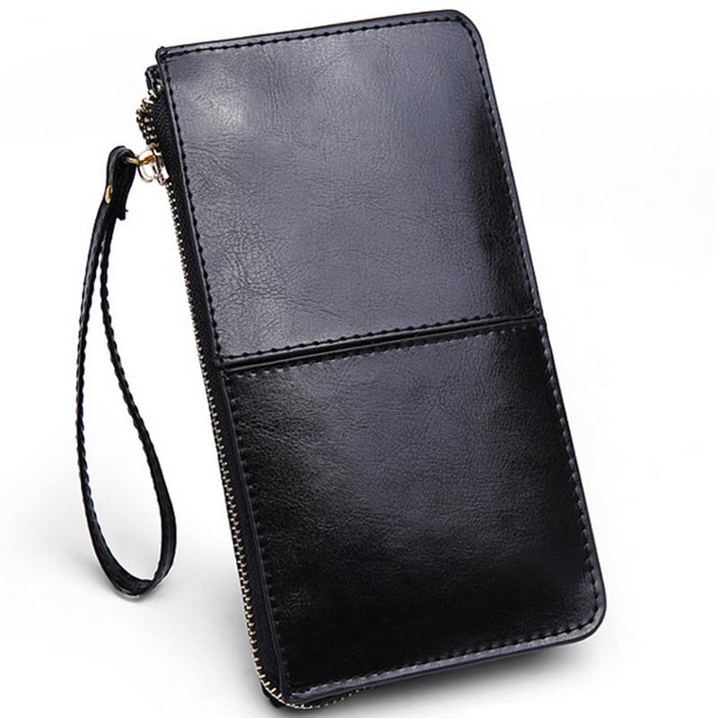 Hot wholesale 2015 new fashion women wallets genuine leather women clutch bag candy coin purses women handbag(China (Mainland))