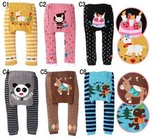 NEW Arrival Children Kids PP Pants Long Trousers Cartoon Legging Cotton Baby Boys Girls Wear HOT Sale