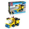 Children' Favourite!! Police Truck 325pcs/set DIY Constructing Blocks Toy Kids Instructional Puzzle Toy Children Birthday Presents