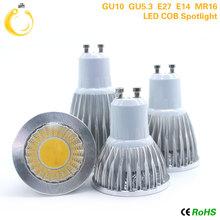 Buy E27 E14 GU10 GU5.3 MR16 12V High Brightness 9W 12W 15W Store lights Cob led bulb lamp Warm/Cold White lampada led 110v 220V for $1.32 in AliExpress store