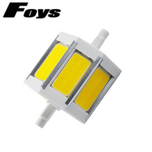 Buy wholesale Ultra Bright R7S LED 78mm 118mm 189mm Flood Light dimmable ac85-265v cob LED bulb replace halogen bamp free for $5.76 in AliExpress store