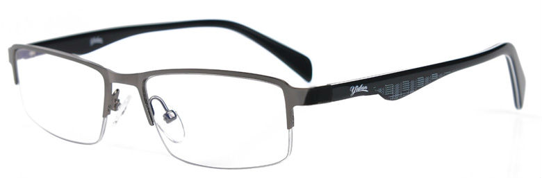 Gray Frame Reading Glasses : YIDUN men and women anti radiation gray frame reading ...