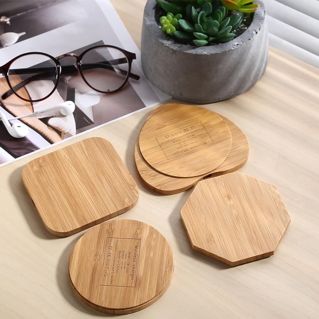 2016 new Wooden Wireless Charger Charging Pad Power Bank USB Charger Micro usb Cable