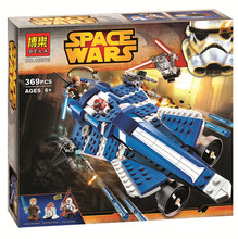 New STAR WARS Anakins Custom Jedi Starfighter Spaceship Clone War Building Blocks Bricks Action Figures Starwars Toys