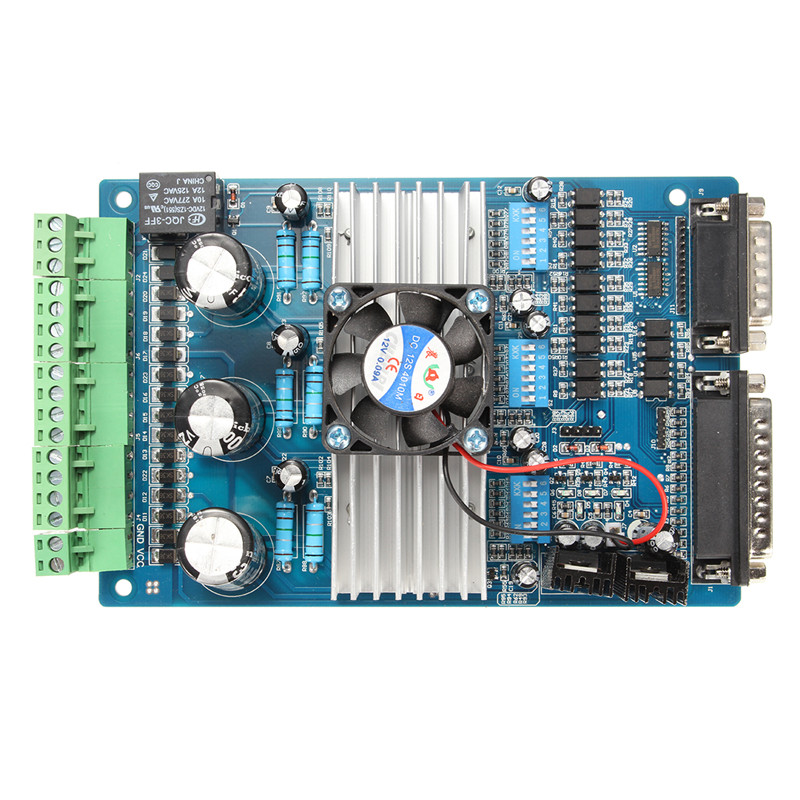 New Arrival CNC 3 Axis TB6560 Stepper Motor Driver Controller Board For Mach3 KCAM4 EMC2 36V Wholesale Price(China (Mainland))