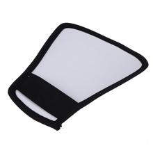 Buy Camera Flash Diffuser Softbox Silver White Reflector Canon 580EX Nikon SB-600 for $1.35 in AliExpress store