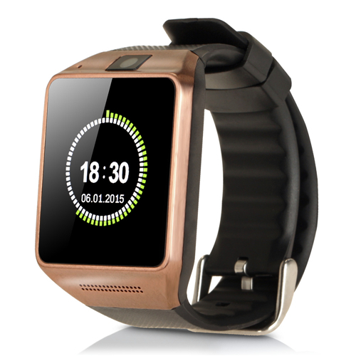 New GV08 Bluetooth Smart Watch WristWatch Support SIM Card and Camera For All Android Smart Moblie Phone Free Shipping(China (Mainland))